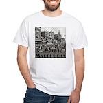 Mardi Gras White T-Shirt