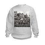 Mardi Gras Kids Sweatshirt