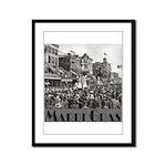 Mardi Gras Framed Panel Print