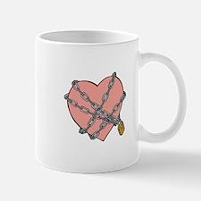 Heart in Chains Mug