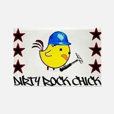 Rock Chick design Magnets
