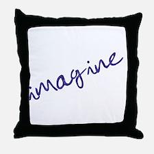 imagine - light Throw Pillow