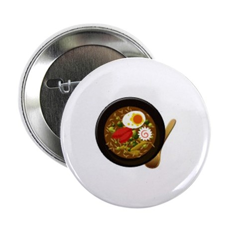 "Japanese Ramen (Japanese Nood 2.25"" Button (100 pa"