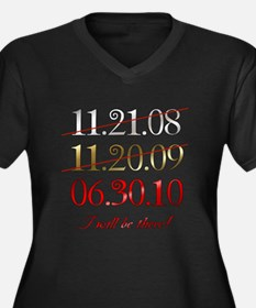 i will be there - dates Women's Plus Size V-Neck D