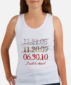 i will be there - dates Women's Tank Top