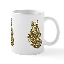 Knot Striped Cream Cat 2 Mug