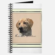 Yellow Labrador Retriever Journal