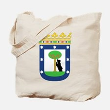 Madrid Coat Of Arms Tote Bag