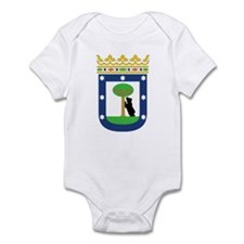 Madrid Coat Of Arms Infant Bodysuit