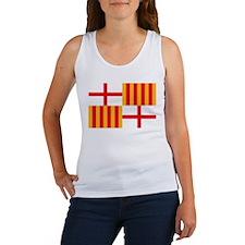 Barcelona Flag Women's Tank Top