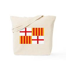 Barcelona Flag Tote Bag