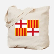 Barcelona Flag Tote Bag