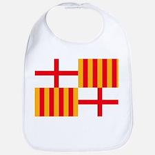 Barcelona Flag Bib