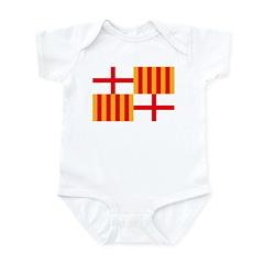 Barcelona Flag Infant Bodysuit