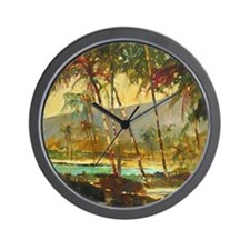 Island Joy Wall Clock