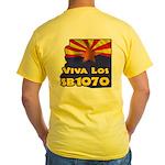 Viva Los SB1070 Yellow T-Shirt