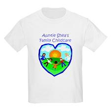 Auntie Shea's Family Childcar Kids T-Shirt