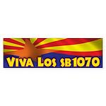 Viva Los SB1070 Sticker (Bumper)