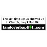 When Jesus Showed Up in Church