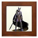 Assassin Demon Framed Tile