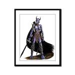 Assassin Demon Framed Panel Print