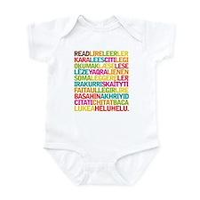Books International Reading Infant Bodysuit