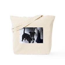Unique Bull dog Tote Bag