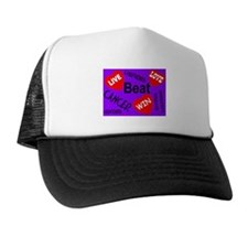 Beat Cancer! Live! Love! Win! Trucker Hat