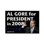 Al Gore for President Campaign Magnet