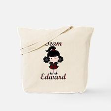 Team Edward Cheerleader Tote Bag