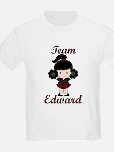 Team Edward Cheerleader T-Shirt