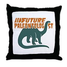 Future Paleontologist Throw Pillow