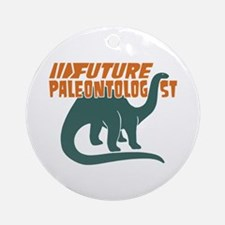 Future Paleontologist Ornament (Round)