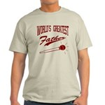 World's Greatest Father Light T-Shirt