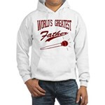 World's Greatest Father Hooded Sweatshirt