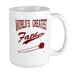 World's Greatest Father Large Mug