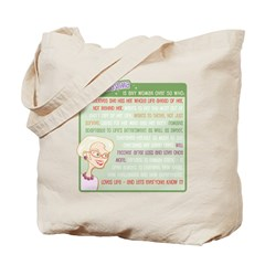 A Gorgeous Grandma Is... Tote Bag