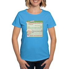 A Gorgeous Grandma Is... Women's Dark T-Shirt
