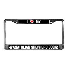 Anatolian Shepherd Dog License Plate Frame
