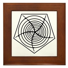 Galactic Migration Institute Emblem Framed Tile