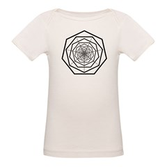 Galactic Progress Institute Emblem Organic Baby T-