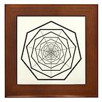 Galactic Progress Institute Emblem Framed Tile