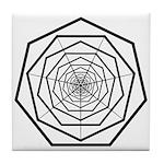 Galactic Progress Institute Emblem Tile Coaster