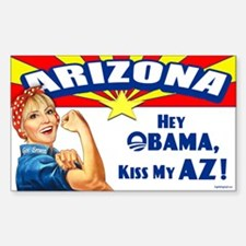 Kiss My AZ Decal