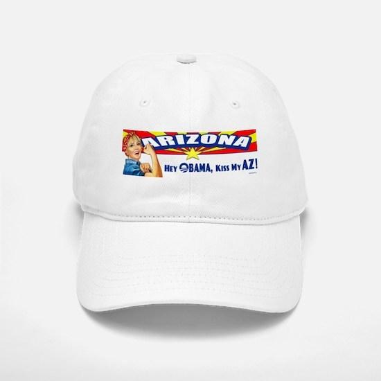Kiss My AZ Baseball Baseball Cap