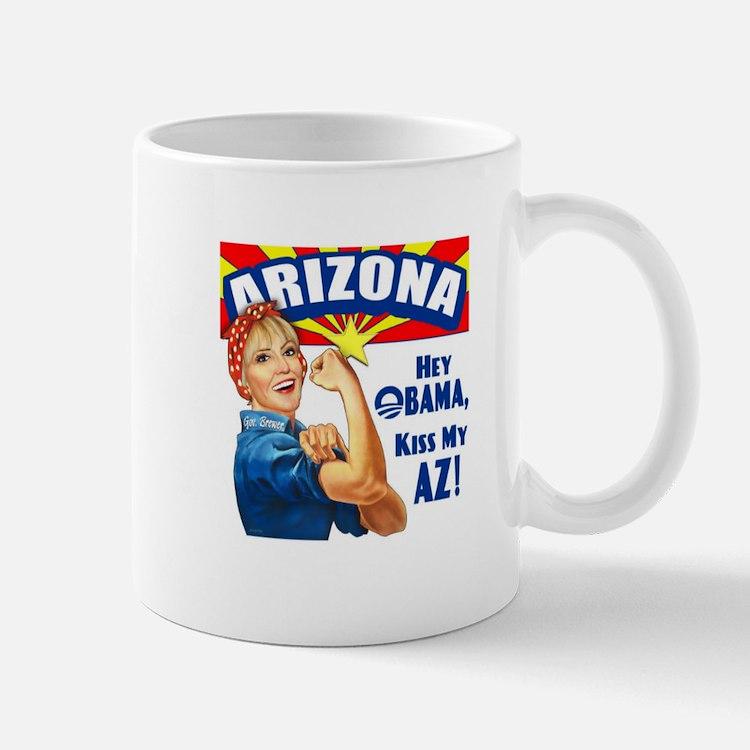 Kiss My AZ Mug