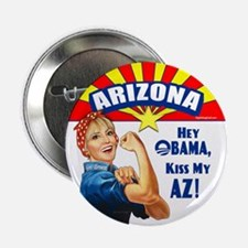 "Kiss My AZ 2.25"" Button (10 pack)"