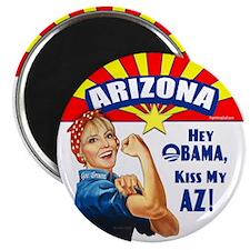 "Kiss My AZ 2.25"" Magnet (100 pack)"