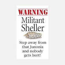 Militant Sheller Rectangle Decal