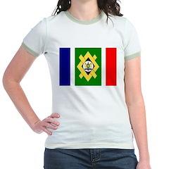 Johannesburg Flag Jr. Ringer T-Shirt